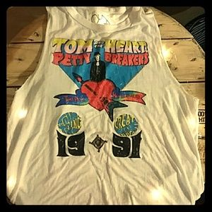 CHASER Tom Petty Tank top 50/50 soft blend